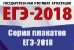 Серия плакатов ЕГЭ-2018