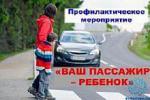 Материалы по профилактике дорожно-транспортных происшествий с участием детей